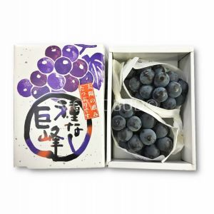 Premium Japanese seedless Kyoho grapes - 300g - rich and juicy