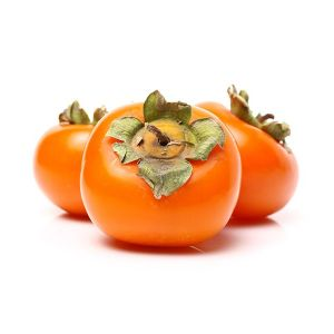 Fresh Japanese persimmon / Kaki - 2pcs/pack of 400g - crispy and sweet