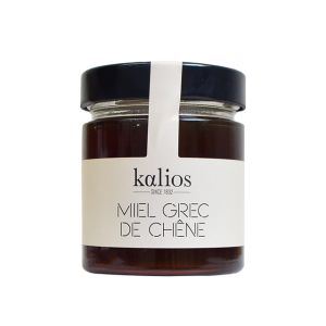 Greek oak honey - 250g - wood and candied chestnut aromas