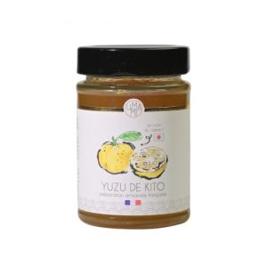 Kito yuzu marmalade - 220g - delicious with toast, for tart preparations, infusions