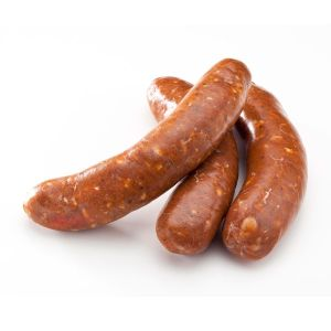 Raw Australian lamb merguez sausages 45g/piece / 22 pieces per pack (halal) (frozen)