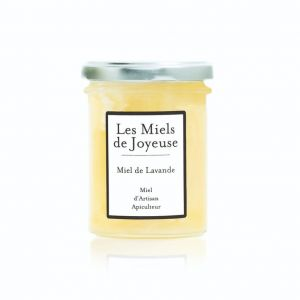 Raw lavender honey from Ardeche region - 250g - Creamy honey, subtle, fruity, with the characteristic aromas of the lavender flower.