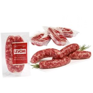 Chilled Italian salsiccia pork Mantovana / sausages for barbeque - 2 x 100g (non-halal)