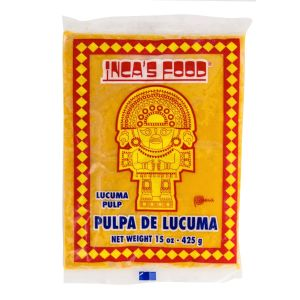 Lucuma pulp / Lucuma fruit puree - 375g (frozen)