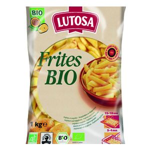 Organic pre fried straight cut French fried - 1kg (frozen) no GMO, no pesticide, no fertilizer