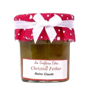 Greengage plum/Reine-Claudes from Moissac marmelade - 100% natural, no preservative, no flavoring - 220g