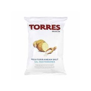 Gourmet potato crisps/chips with Mediterranean salt - 150g