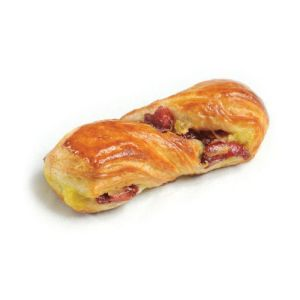 Pre-baked mini cranberry twist - 12 x 30g (frozen) / follow our cooking tip