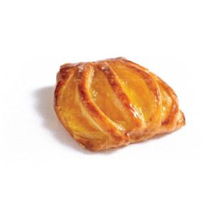 Pre-baked mini mango lattice 12 x 40g - (frozen) / follow our cooking tip