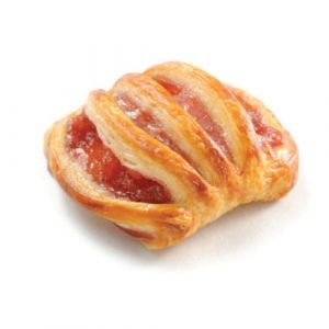 Pre-baked mini strawberry lattice 12 x 40g - (frozen) / follow our cooking tip