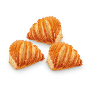 Pre-baked mini apple turnover Lenotre / mini chaussons aux pommes - 12 x 40g (frozen) / follow our cooking tip