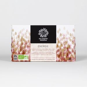 ENERGY organic herbal tea - 12 infusers