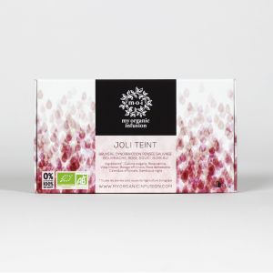 NICE SKIN organic herbal tea - 12 infusers