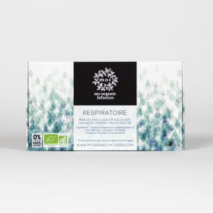 BREATH organic herbal tea - 12 infusers