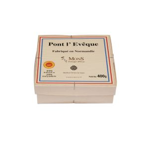 AOP Pont l'eveque  cheese (raw cow milk)  - 400g