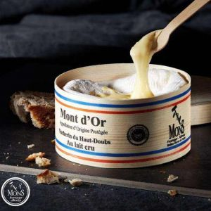 Premium Vacherin mont d'Or du haut Doubs (raw cow milk) - 600g - earthy, sweet and well sprucey