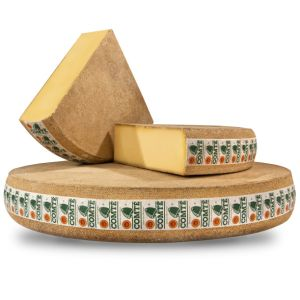 AOP Comte cheese aged over 24 months - 200g - (cow milk) - powerful aroma of butter, hazelnuts, nuts and dried fruits