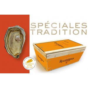 Roumegous SPECIALES TRADITION oysters N3 from Charente Maritime