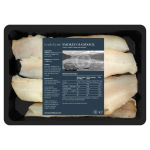 Smoked haddock fillet 2 pieces (vacuum packed) - 1kg-  price will be adjusted as per final weight