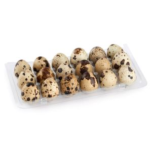 Free range quail eggs - 18 pieces