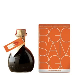 Orange label balsamic vinegar of Modena IGP  250ml - for roasted or grilled meat and fish