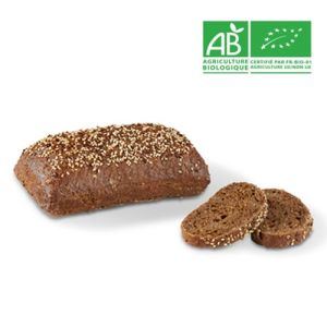 Pre-baked organic nordic loaf - 280g (frozen) - follow our cooking tip