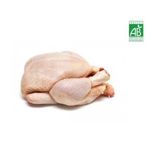 Organic free-range yellow chicken 80 days 95 aed/kg - 1.2kg (halal) (frozen)