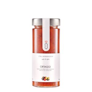 Fresh tomato sauce with fresh vegetables - 280g - natural ready-sauce