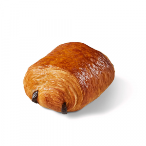 Pre-baked pure fine butter pain au chocolat 6 x 70g - (frozen) / follow our cooking tip