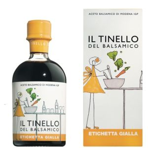 Il Tinello - Yellow Label Balsamic Vinegar of Modena IGP - 250ml for salad