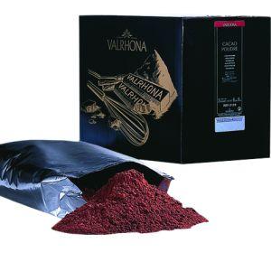 Pure unsweetened Valrhona cocoa powder - 1kg - 100% cocoa