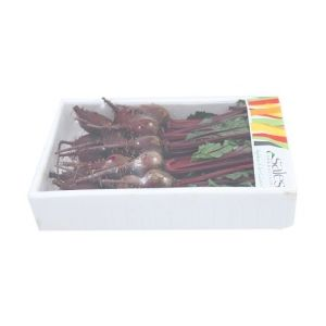 Baby red beetroot bunch punnet - 350g