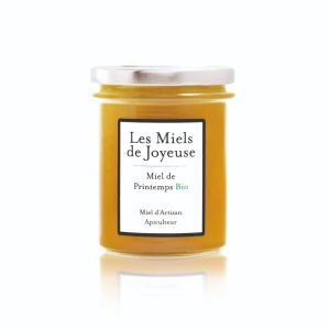 Raw spring honey from Ardeche region - 250g - sweet floral aromas with acacia, hawthorn and white heather.