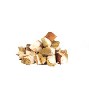 Frozen pieces of porcini mushrooms / cepes en morceaux - 1kg