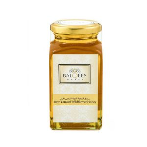 Raw Yemeni wild flower honey - light in color, fresh and floral taste