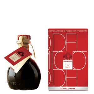 Red label balsamic vinegar of Modena IGP 250ml - for cheese and fruits
