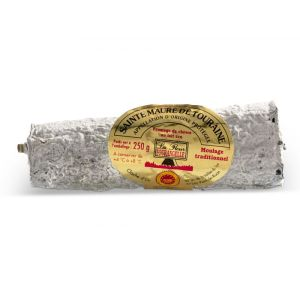 AOC St Maure de Touraine cheese (raw goat milk) - 250g