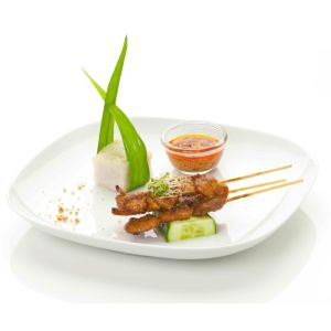 Marinated beef satay 25 sticks - (halal) (frozen)