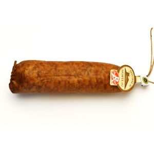 Red Label smoked pork sausages vacuum packed / saucisses de Morteau Label Rouge