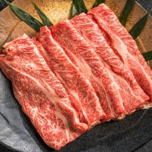 Full blood wagyu beef marble score 9+ shabu shabu (thin slices) - 500g  (chilled) (halal) - 2 days lead time