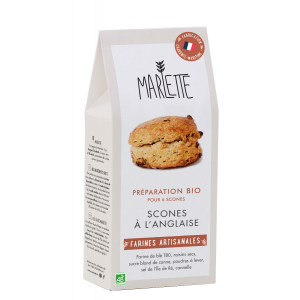 Organic baking mix preparation for English scones - 450g for 6 servings