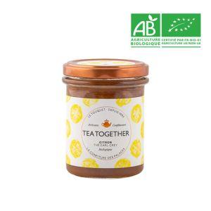 Organic lemon with earl grey artisan jam - 220g  - the British