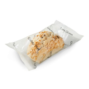 Gluten-free fully baked seeded breads 6 x 45g (frozen) - individually wrapped for microwave use / follow our cooking tip