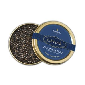 Russian oscietra (acipenser gueldenstaedtii) caviar - 30g - originated from Caspian sea