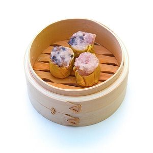 Chicken & prawn Siew Mai with shitake mushroom 20g - 30pc /packet (halal) (frozen)