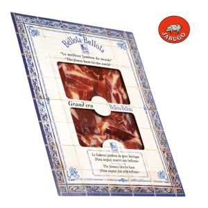 Pata Negra, hand-cut slices of Iberian ham Jabugo aged 36 to 48 months - 100g
