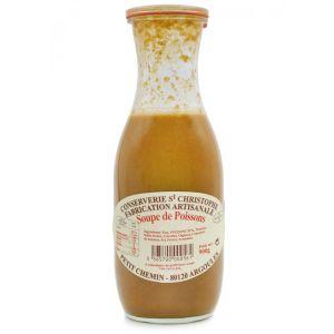 Ready-to-eat artisan fish soup - 900g - 100% natural, no preservative