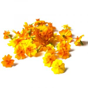 Edible tagete flowers - 30 to 50g per punnet
