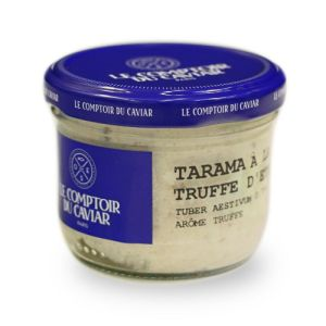 Tarama with summer truffle 2.79% - 90g no colouring - EXPIRY 21.04 - A tasty recipe made from the best quality of Icelandic smoked cod roe