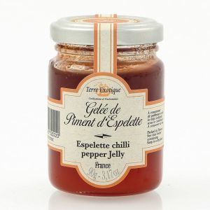 Espelette chilli pepper jelly - 100g